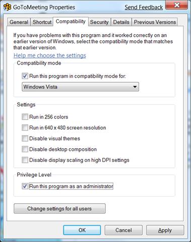 Using Gotomeeting With Windows 7 Peterkellnernet