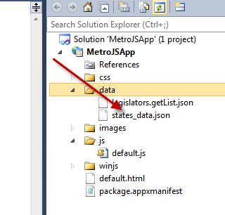 With Windows 8 Metro HTML5/CSS3/JavaScript/WinRT, Read Any File From