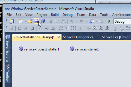 Building a Simple Window Service Application in Visual
