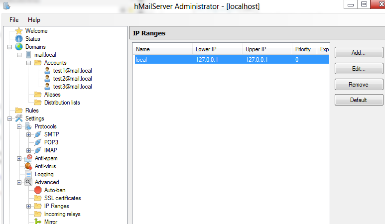 How To Setup Your Own Pop3/IMAP Email Server for Local